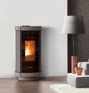 Piecyk na pellet Thermorossi Dorica Metalcolor AIR 13kW
