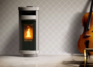 Piecyk na pellet Thermorossi Dorica Supreme Metalcolor PLUS 13kW