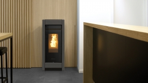 Piecyk na pellet Thermorossi Aromy Metalcolor Silent 9kW